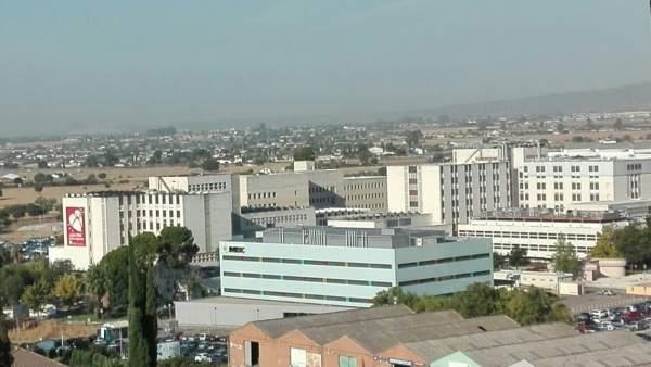 Vista general del Hospital Universitario Reina Sofía de Córdoba