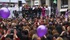 Las periodistas se concentran por el 8-M en Madrid