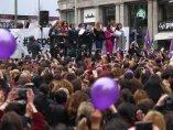 Las periodistas paran por el 8-M en Madrid
