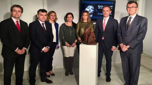 Consejero Cultura, alcalde de Murcia, Jesús Pacheco en el acto