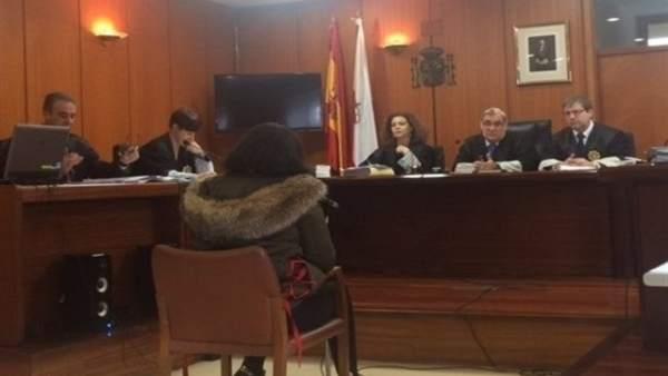 Declaración de la acusada en la primera sesión del juicio