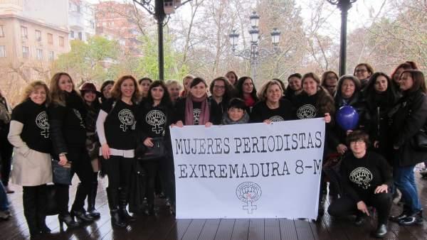 Mujeres periodistas el 8M