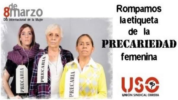 USO celebra el 8 de Marzo