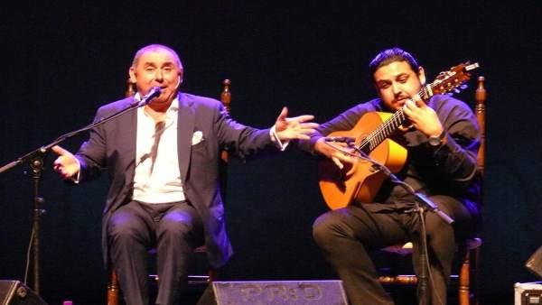 Actuación flamenca.