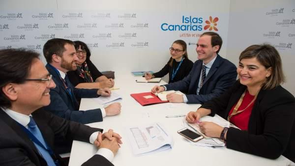 Reunión de Castellano en el marco de la ITB
