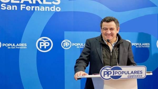 José Loaiza, del PP de San Fernando-Cádiz