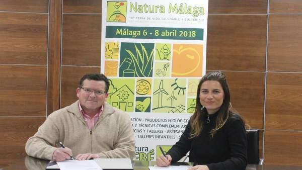 Firma convenio Natura Málaga