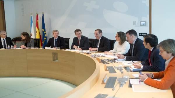 Reunión del Consello de la Xunta del 8 de marzo de 2018