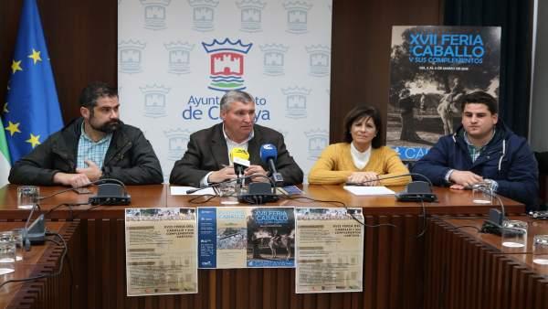 Presentación de la Feria del Caballo de Cartaya (Huelva).