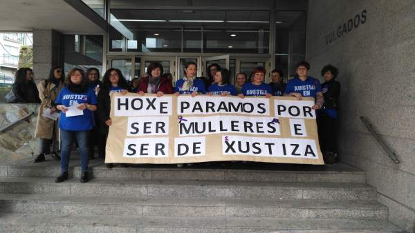Protesta 8M en Ferrol