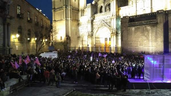 Manifestación 8M en Toledo