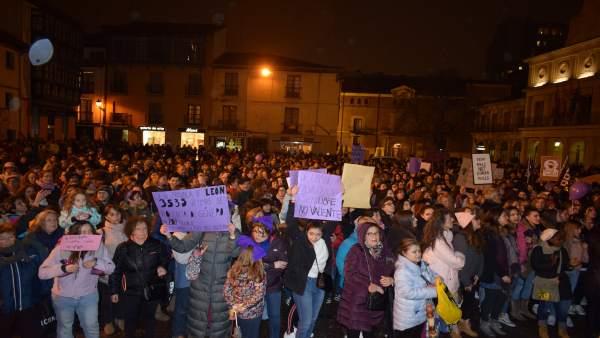 Manifestación León