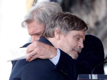 Mark Hamill y Harrison Ford