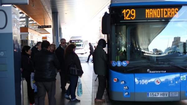 Línea 129 de la EMT