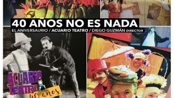 Aniversario de la compañía Acuario Teatro
