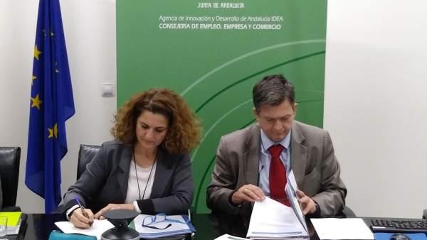 Firma inversión sede provisional del CFA de Cádiz
