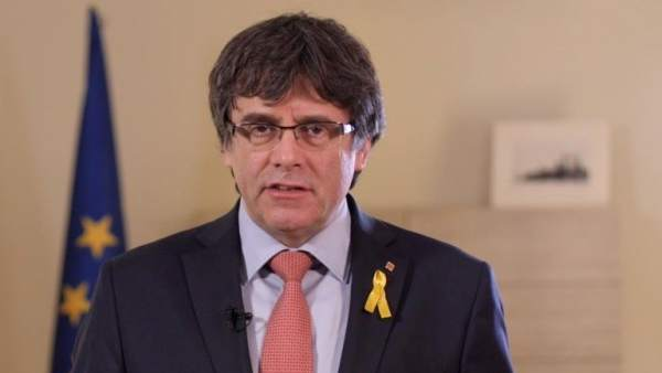 Candidato de JxCat a la Presidencia de la Generalitat, Carles Puigdemont.