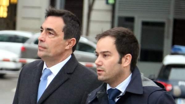 El exdirector de los Mossos, Pere Soler (izquierda).