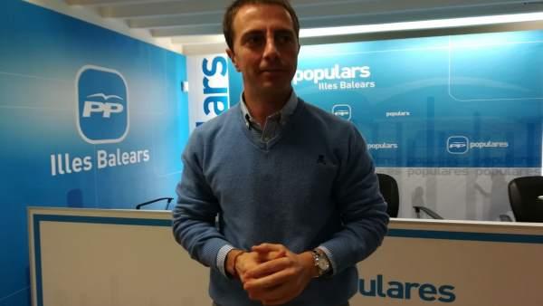 Llorenç Galmés, portavoz PP Baleares