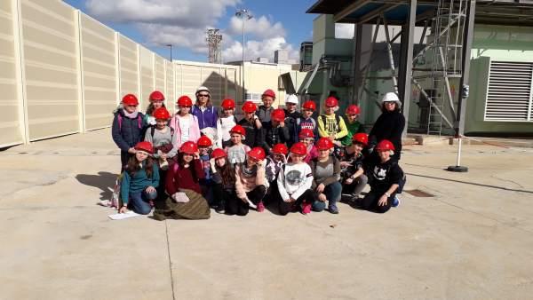 Visita colegio santa Gertrudis Ibiza