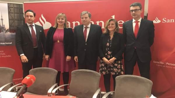 Presentación de la misión comercial a China de Sodercan y el Santander