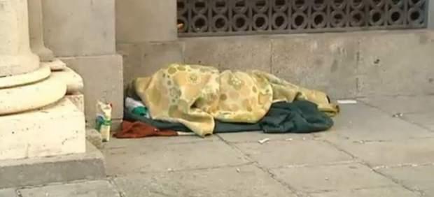 1.195 personas sin techo para dormir