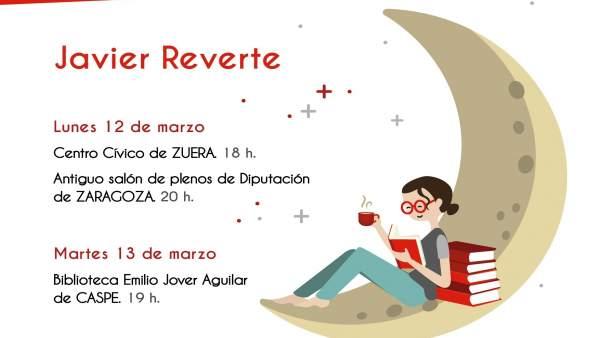 Javier Reverte participa este lunes y martes en el ciclo literario de la DPZ