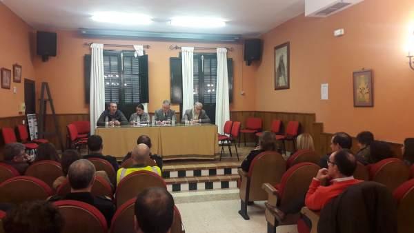 Reunión del Plan Romero en el Ayuntamiento de Almonte.