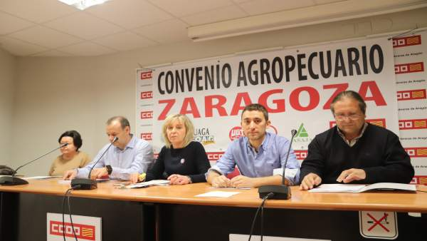 Presentación del convenio Agropecuario.