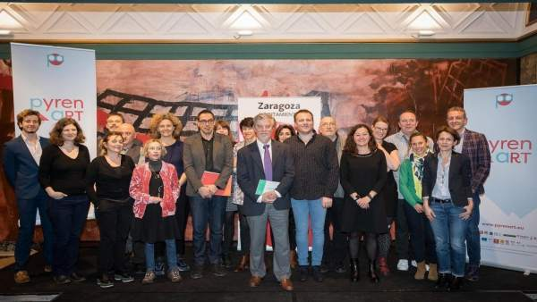 Presentación del proyecto europeo PYRENART en Zaragoza