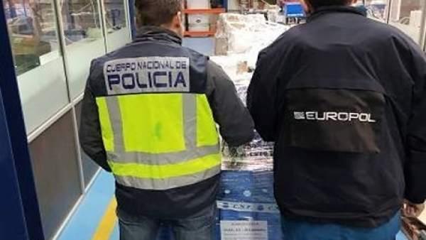 Intervención policial Blusens, aparatos de WebTV