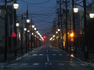 Calle fantasmal