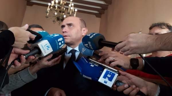 """El Consell no es pronuncia sobre el processament d'Echávarri perquè eixa qüestió és de l'""""àmbit municipal"""""""