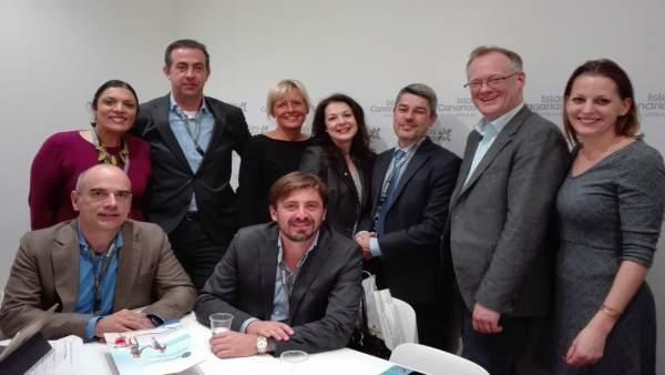 Reunión con TUI en la ITB de Berlín