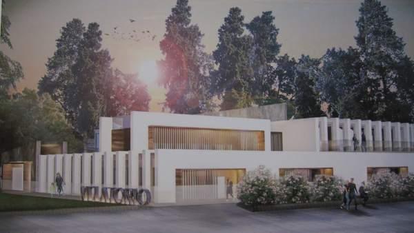 Proyecto de salas de velatorio de Cecosam en el cementerio de San Rafael