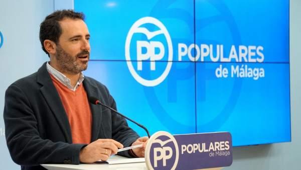 José Ramón Carmona PP portavoz PP Málaga