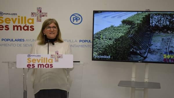 Amidea Navarro analiza el estado de la Plaza Nueva