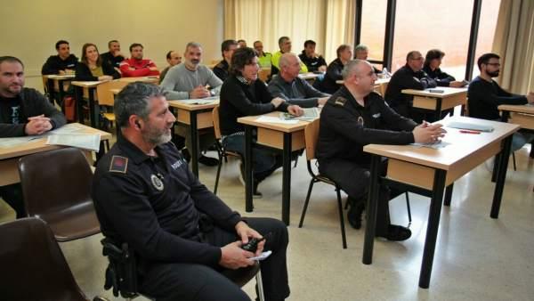 Curso de formación de policías locales