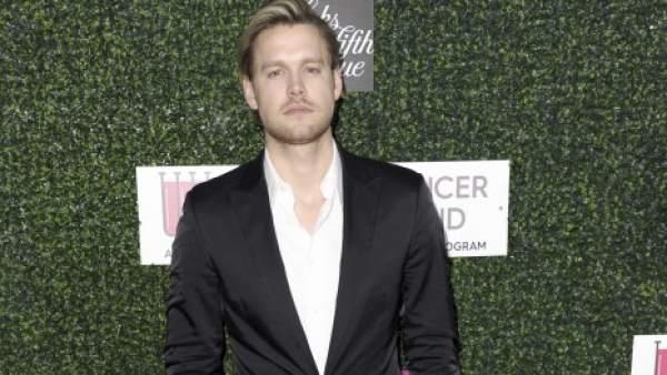 El actor Chord Overstreet, conocido por su papel en 'Glee'.