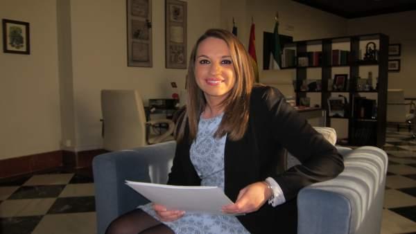 La delegada del Gobierno andaluz en Córdoba, Esther Ruiz