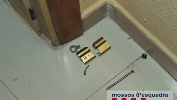 Los autores forzaron las puertas de viviendas de segunda residencia