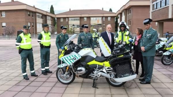 Las nuevas BMW de la Guardia Civil de Tráfico
