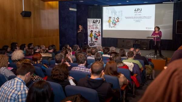 Presentación del borrador del nuevo Plan Joven de Zaragoza.