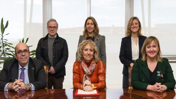 Firma del convenio SODERCAN-ODECA