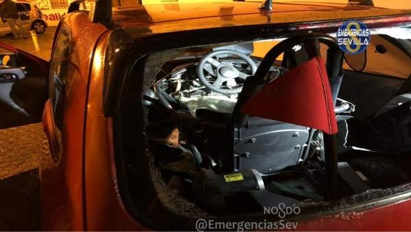 Quad transportado en el maletero de un vehículo