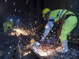 Trabajos de mantenimiento ferroviarios