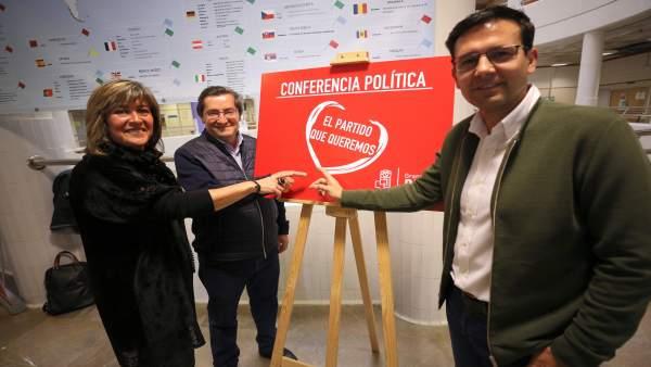 Conferencia política del PSOE de Granada capital