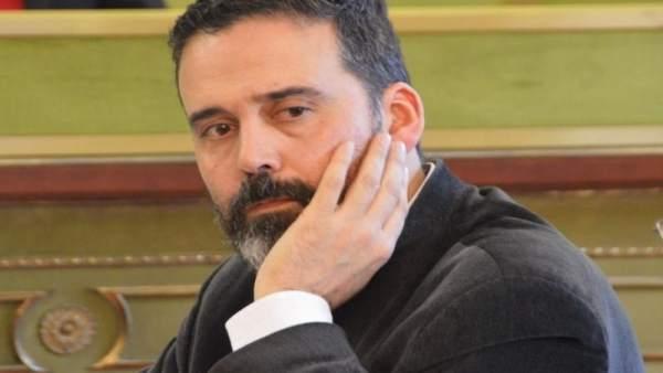 El concejal de Seguridad Ciudadana de Oviedo, Ricardo Fernández