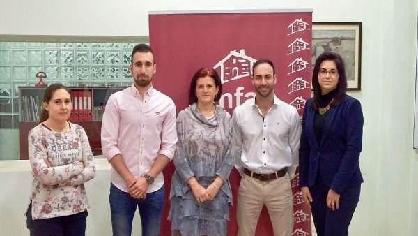 Reunión de NNGG Almería con Amfar