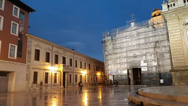 Palacio Arzobispal de Zaragoza.